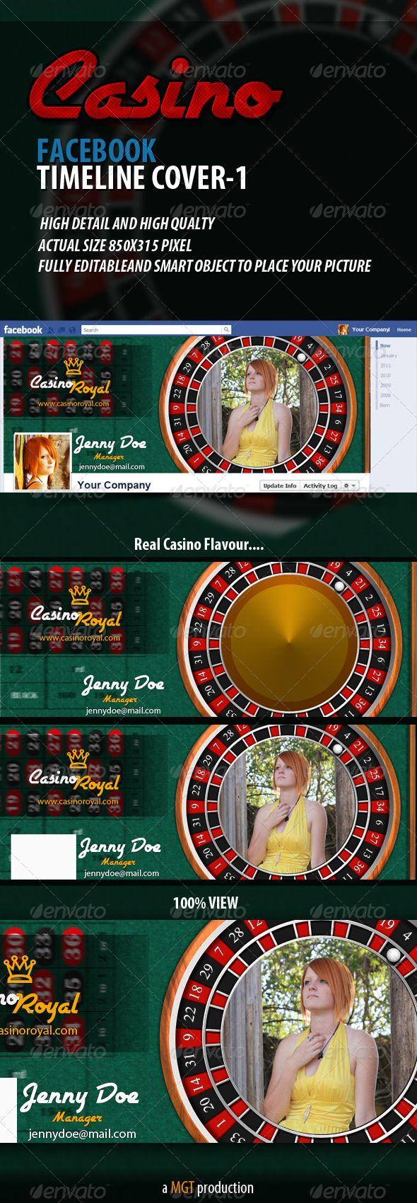 Casino Facebook Timeline Cover - 1
