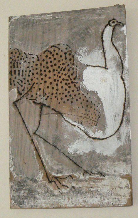 Ronald Rae, Ostrich su drawing on ArtStack #ronald-rae #art