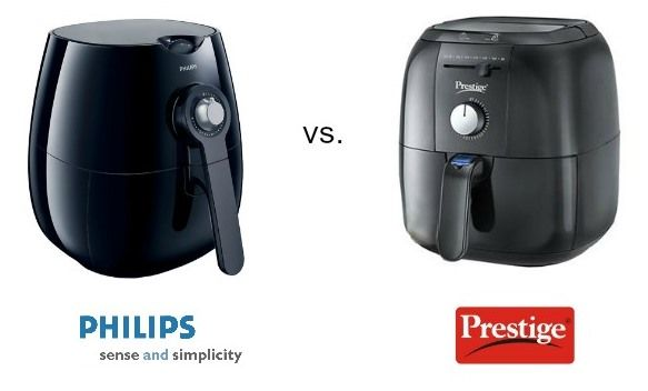 Philips air fryer vs. Prestige air fryer. Find out the differences and similarities between the two.