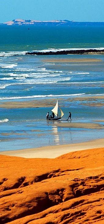 Canoa Quebrada - Ceará - BRAZIL                                                                                                                                                      Mais