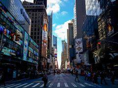 New York, New York streets