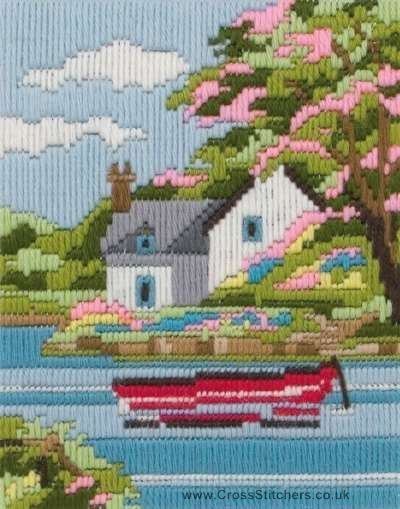 Spring Days Long Stitch Kit by Anchor