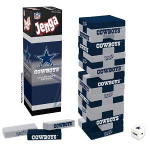 USAopoly Dallas Cowboys Jenga: Toys & Games