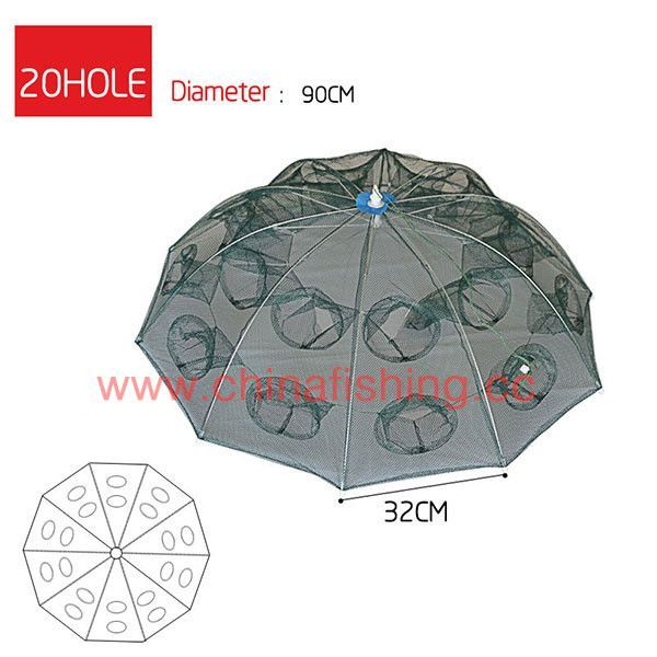 Agepoch Fishing Landing Net Large Fishing Net for Sale nylon networking Fish Net Shrimp Crab Fish