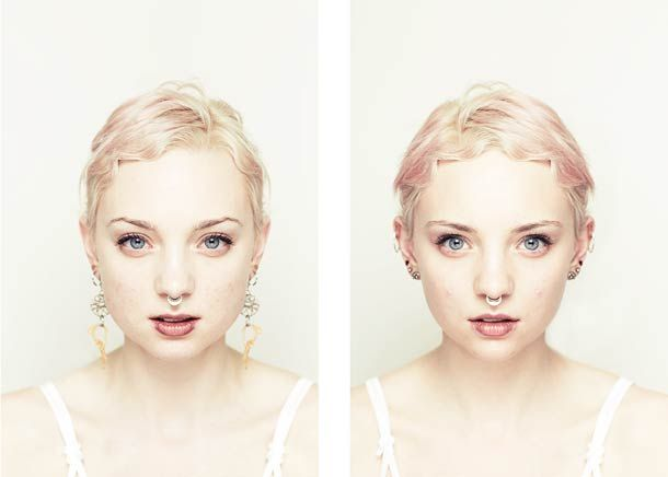 Both Sides Of – La beauté du visage est-elle symétrique ? Un superbe projet du photographe Alex John Beck, qui explore la relation entre la notion de beauté et la symétrie du visage…