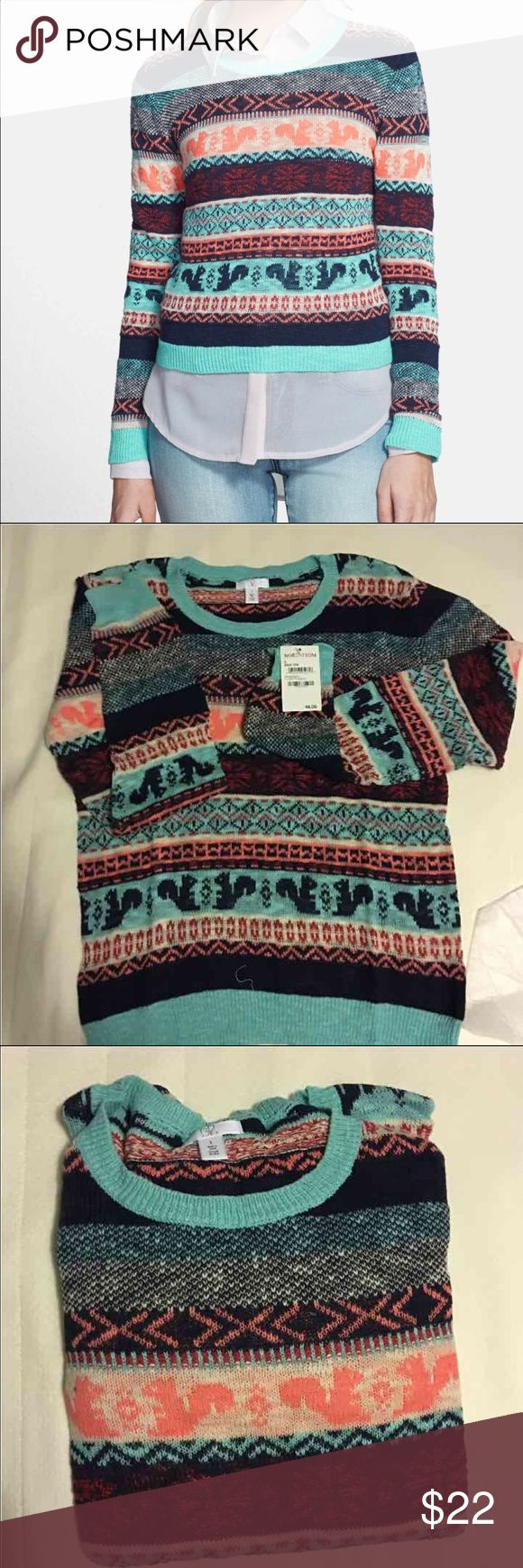 Nordstrom BP pullover size L BP pullover size L Junior Perfect for Fall & layers   Please check out our store :) We have UGG, NIKE, The North Face, Under Armour, Trina Turk, Ralph Lauren, Gymboree for boys and girls, Puma, Abercrombie & Fitch, Lacoste, Tommy Bahama, Steve Madden, Stride Rite, Gap & more  We love to hunt for great deals to pass on to you!!! We carry dress, blouses, handbags, boys shoes, sneakers, boots, backpacks, sweaters, jackets!!!  Happy Shopping!!! All Authentic…