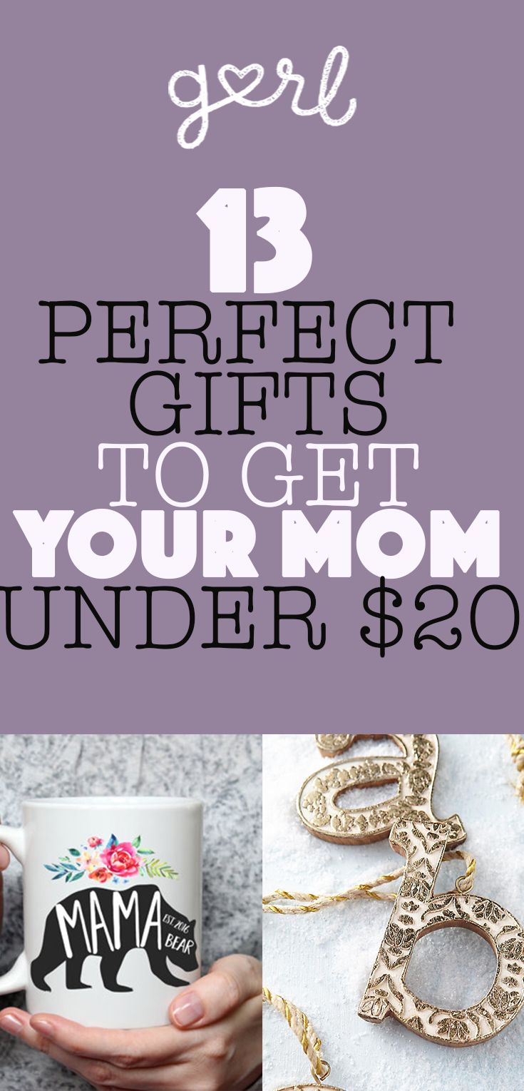 13 Perfect Gifts Under 20 To Buy Your Mom For The Holidays