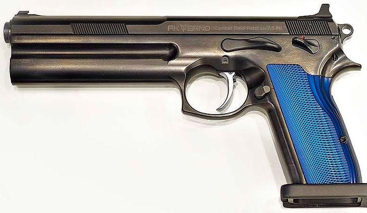 Modern Firearms - FK Brno Defense Field Tactical pistol (Czech Republic)7.5x27mm FK