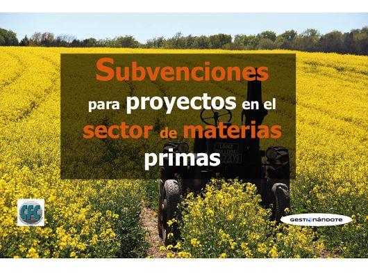 Subvenciones para proyectos de impacto multisectorial en cadenas de valor