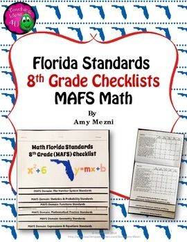 This That These Those Worksheets For Grade 1 Word Best  Florida Standards Ideas Only On Pinterest  Mastery  Maths Worksheet For Grade 5 Excel with Solving Inequalities Worksheet With Answers Word Florida Standards Mafs Math Th Grade Checklistsneed An Easy Way To Keep  Track Of Covering The Solve System Of Equations By Substitution Worksheet Pdf