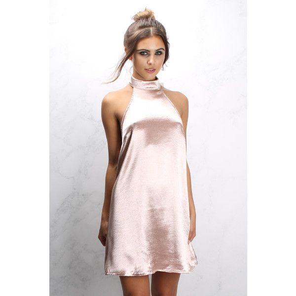 78  ideas about Pink Satin Dress on Pinterest - Satin- Silk dress ...