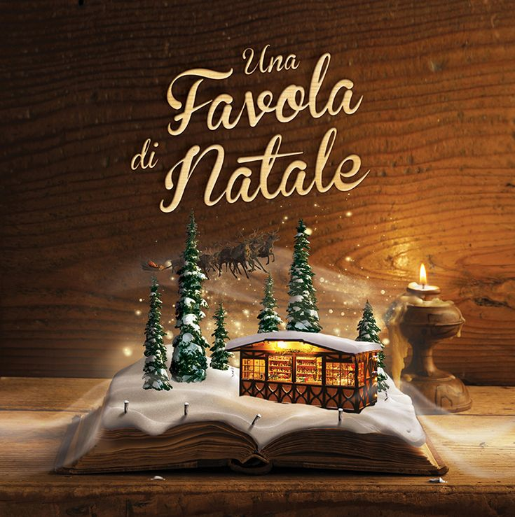 Gallio: Una favola di Natale | www.ofmagnet.com #christmas#illustration #photoediting #photo #graphic #design