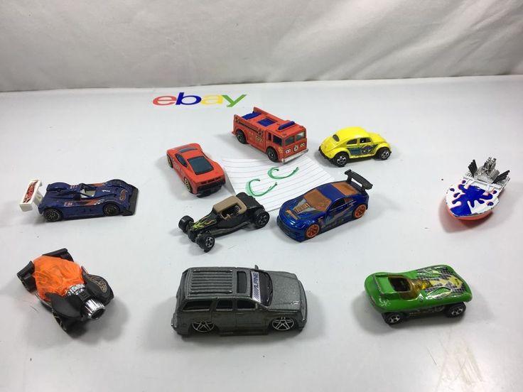 1980-1990 Match Box Hot Wheels Car Lot   CC #Mattel