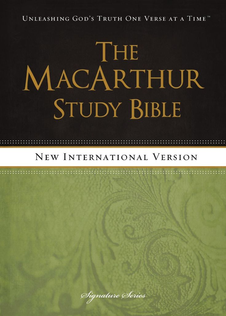The MacArthur Study Bible - Free Download