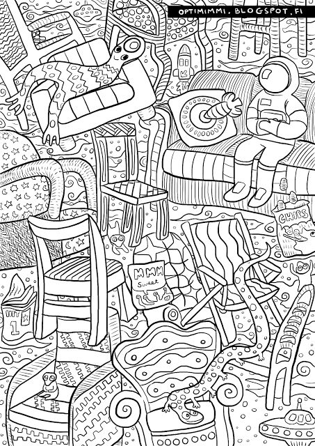 Free Coloring Adult Colouring Books Doodles Pages Mandalas Vintage In