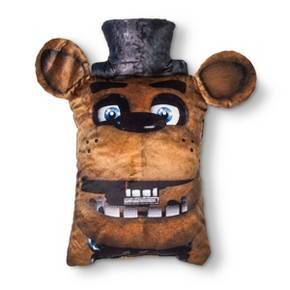 """Five Nights at Freddy's® Brown Throw Pillow (24""""x6"""")"""