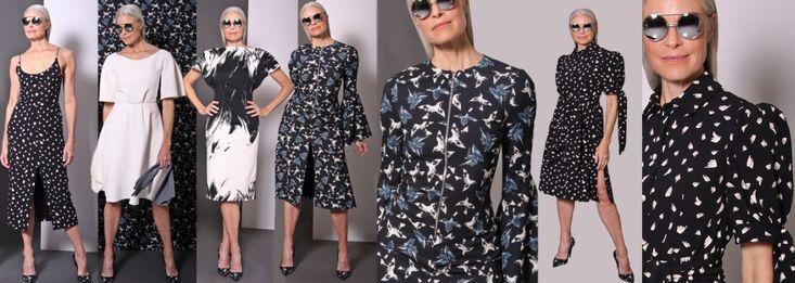 Повседневные стильные платья для дам элегантного возраста 50, 60 лет