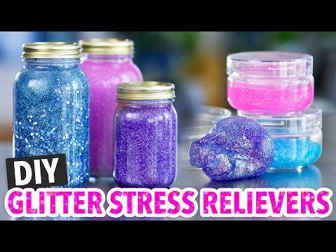 DIY Calming Glitter Jars & Glitter Slime - HGTV Handmade - YouTube