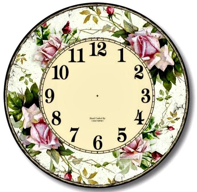 Printable Vintage Clocks