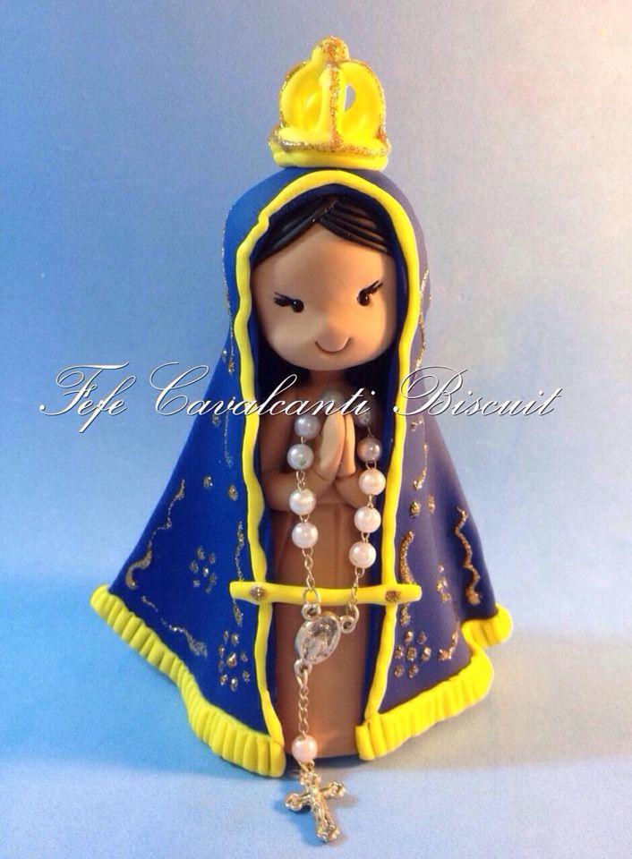Nossa Senhora Aparecida por Fefe Cavalcanti Biscuit