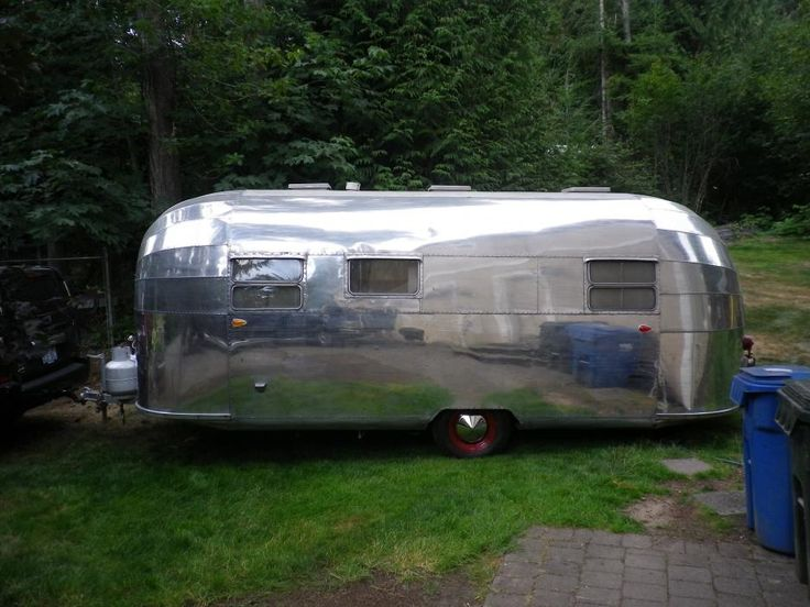Vintage Airstream Forums - Which Vintage Trailer Makes The Best Investment Sense? This is a 1951 Flying Cloud 15 panel ends, which is RARE! See it on www.eurostreamcaravans.com and its for sale in the UK, sitting in Brighton