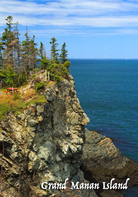 Cliffside camping, anyone? There is SO MUCH to do on Grand Manan Island in New Brunswick. Come check it out!
