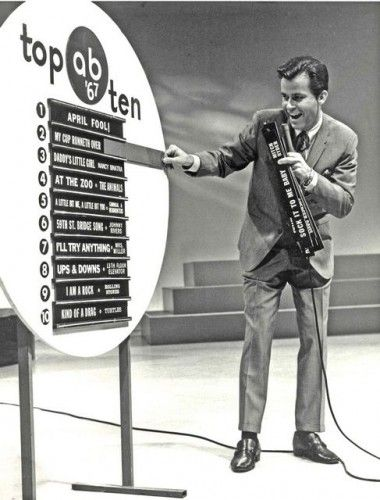 Dick Clark's American Bandstand Top 10 Songs (1967). Who could ever forget watching American Bandstand. It came on every saturday and the top 10 was my favorite. Every artist lip sunk to their songs.  Madonna told Dick she wanted to rule the world and she just about did.