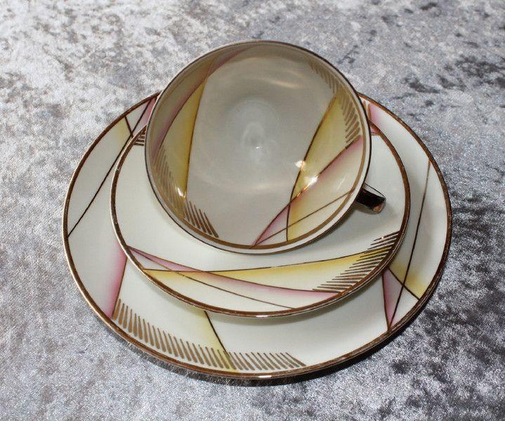 Vintage Sammeltassen - Vintage Sammeltassen Gedeck Rockabilly -Winterling - ein Designerstück von Cups-Corner bei DaWanda
