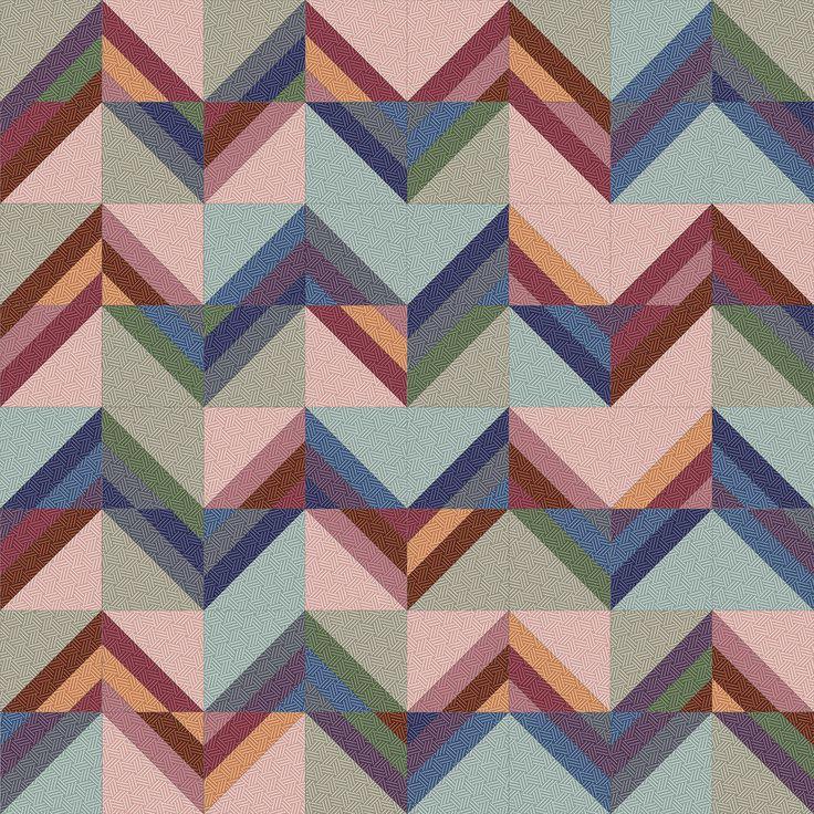 Hadleigh Roman Stripe Quilt idea 9