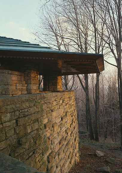 Isaac Hagan House, Kentucky Knob PA.  Frank Lloyd Wright