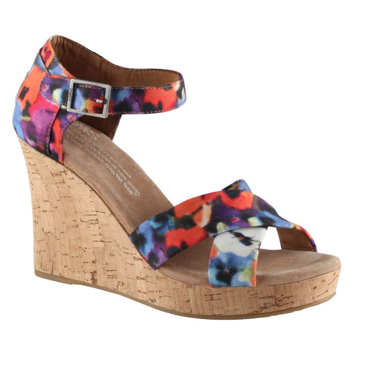 LEVYNA - women's Wedges sandals for sale at Little Burgundy Shoes.