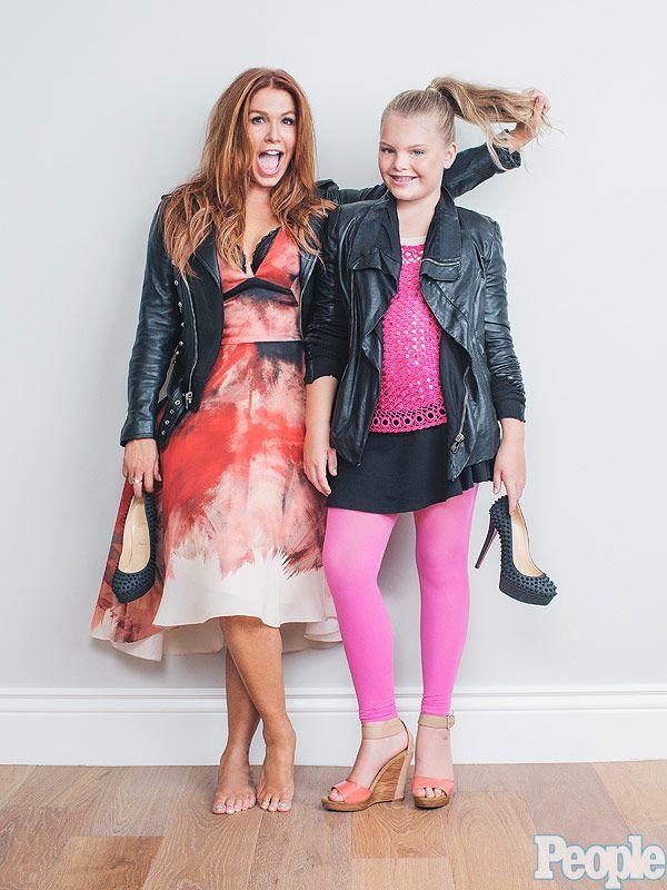 Poppy Montgomery kids fashion