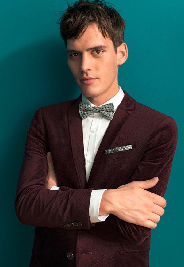 Veste en velours chic, rétro et chaude pour homme tendance