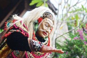 mask dance - bali