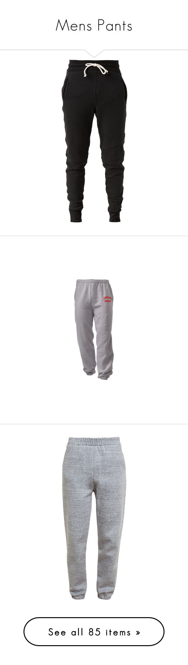 """""""Mens Pants"""" by janay1206 ❤ liked on Polyvore featuring men's fashion, men's clothing, men's activewear, men's activewear pants, pants, bottoms, jeans, sweatpants, sweats and activewear"""