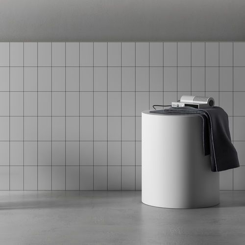 Shower stool / contemporary / Corian® / for bathrooms PLANIT