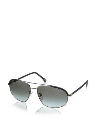 Ermenegildo Zegna Men's Sunglasses, Silver