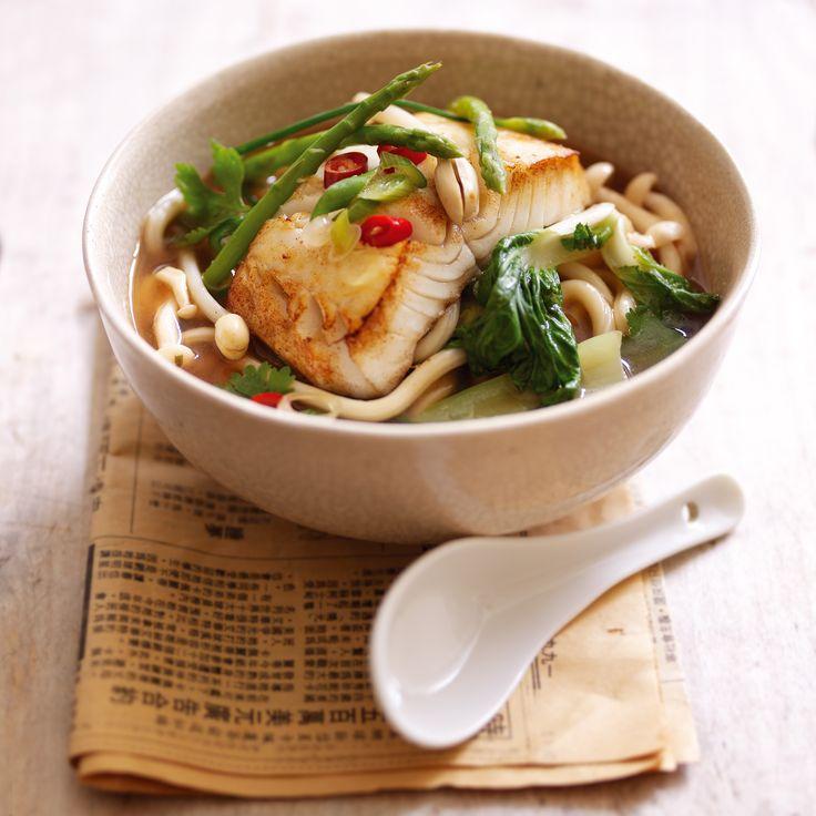Мисо суп красный с морепродуктами
