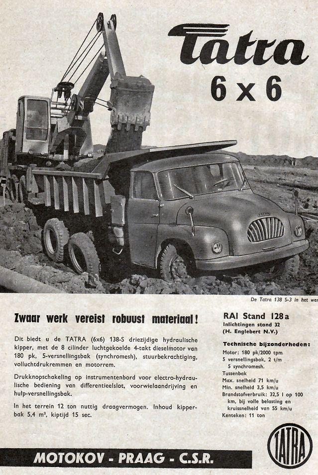 Advertisement - Tatra 6x6 Truck