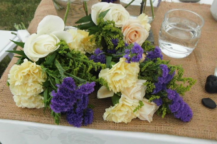 Beautiful bouquets .