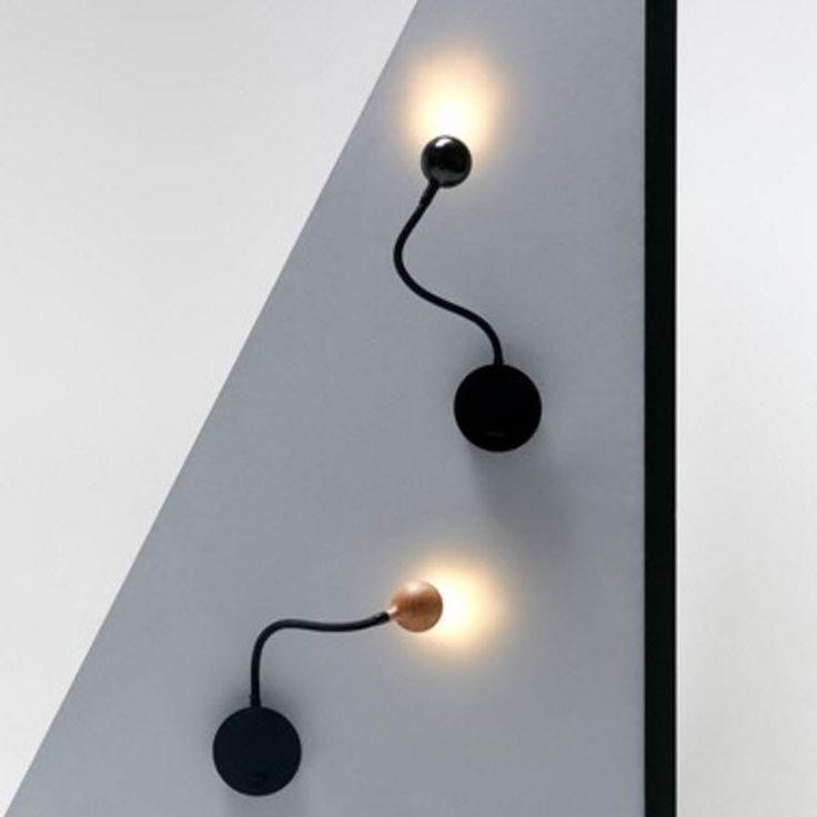 41 les meilleures images concernant luminaires sur pinterest plafonniers cuivre et lampadaires for Applique contemporaine