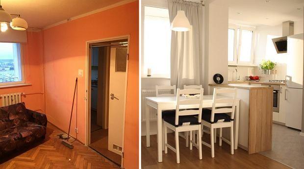 Całkowita metamorfoza starego mieszkania. Co za zmiana!