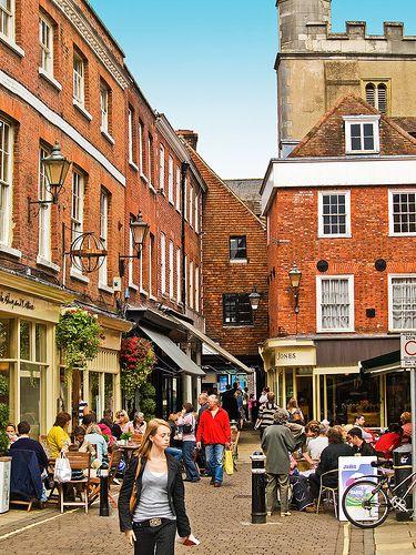 The Square in Winchester, Hampshire