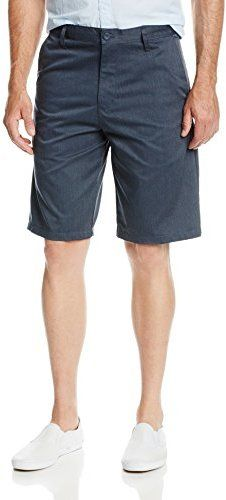 $24, Daily Chino Short by Burnside. Sold by Amazon.com. Click for more info: http://lookastic.com/men/shop_items/63531/redirect