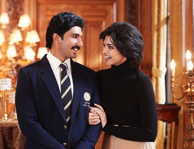 First Look Ranveer Singh As Kapil Dev And Deepika Padukone As Romi Dev Are All Smiles In Upcoming Film 83 Bollywood News Ranveer Singh Upcoming Movies