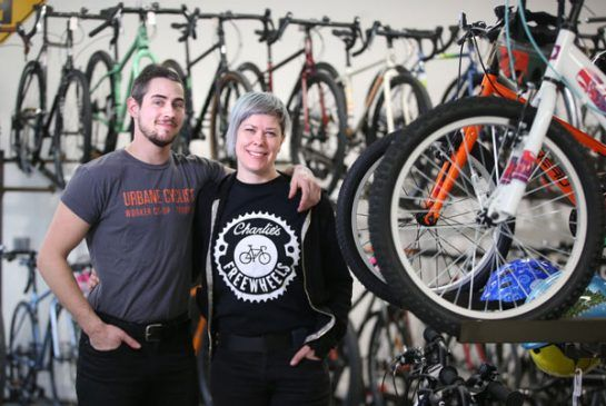 Apprenticeship aims to give women transgender people the skills to break into Torontos bike industry