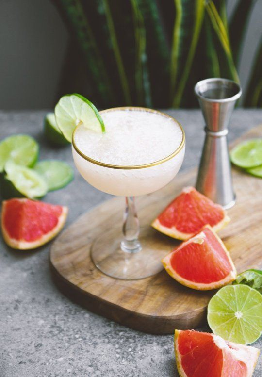 Summer cocktail recipe: Frozen Hemingway Daiquiri.