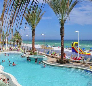 Boardwalk Beach Resort in Panama City Beach, FL - Pool View