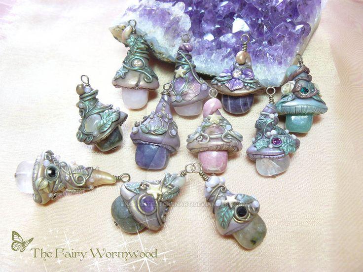 Polymer clay, raw brass, glass bead Soon on my Etsy ________________________________________ Alisa Krinna Maskaeva copyright. April 2015.