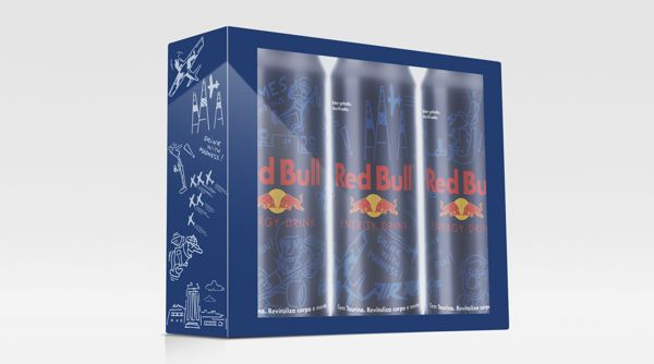 Packaging / Red Bull Cartoon Edition